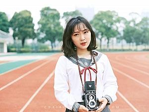 校园JK@常德摄影小狗