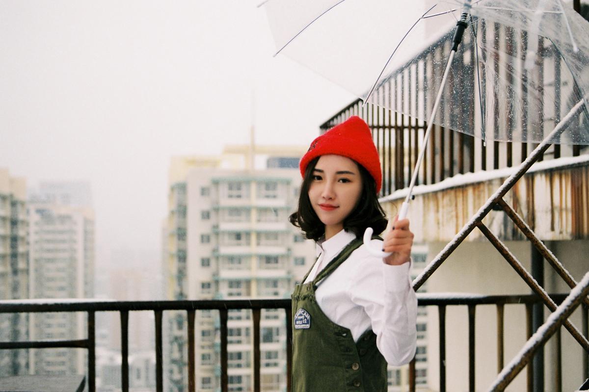天台的雪 摄影:@马骏同学-菲林中文-独立胶片摄影门户!