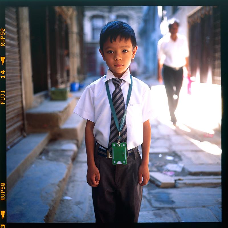 加德满都的微笑 @醒目武汉-菲林中文-独立胶片摄影门户!