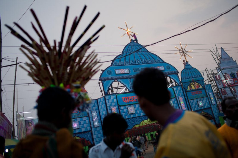 Kevin Frayer-印度Sonepur Mela节-菲林中文-独立胶片摄影门户!