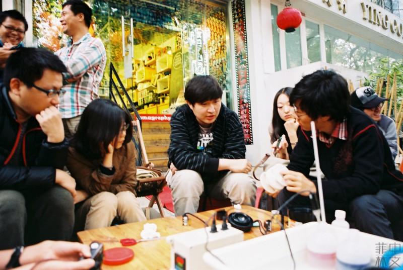 彩色底片手冲课堂活动花絮-菲林中文-独立胶片摄影门户!