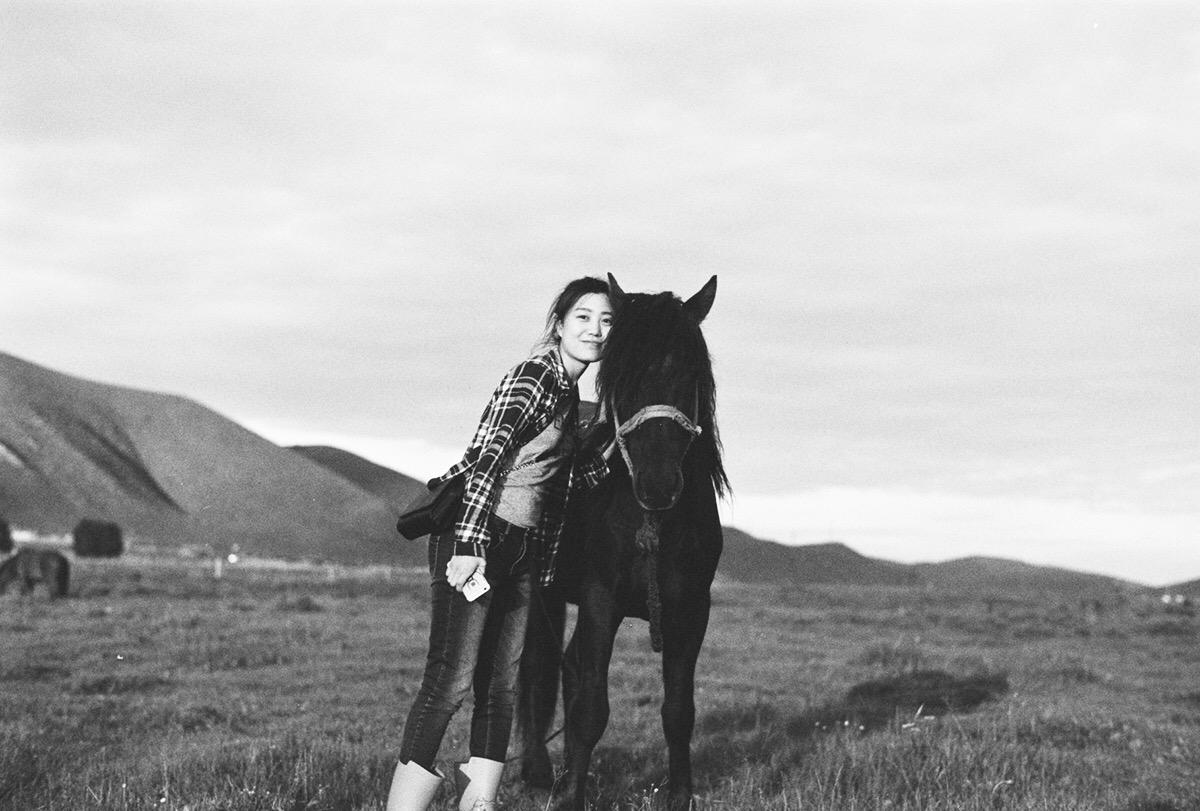 丰宁坝上——越过那小河旁,骑着马儿上山岗-菲林中文-独立胶片摄影门户!