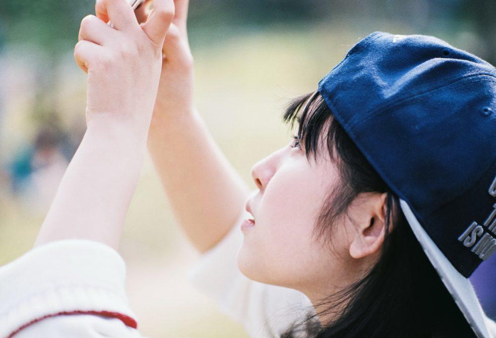 元気少女 @晴天小摄-菲林中文-独立胶片摄影门户!