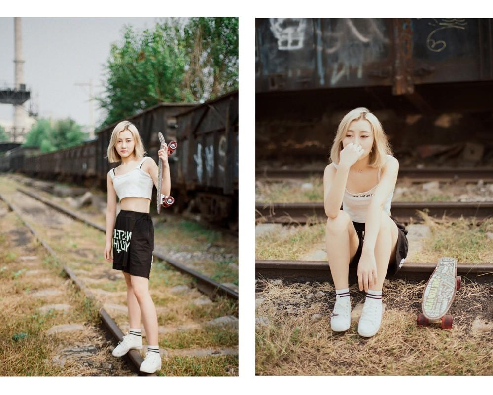 滑板少女 @马骏同学-菲林中文-独立胶片摄影门户!