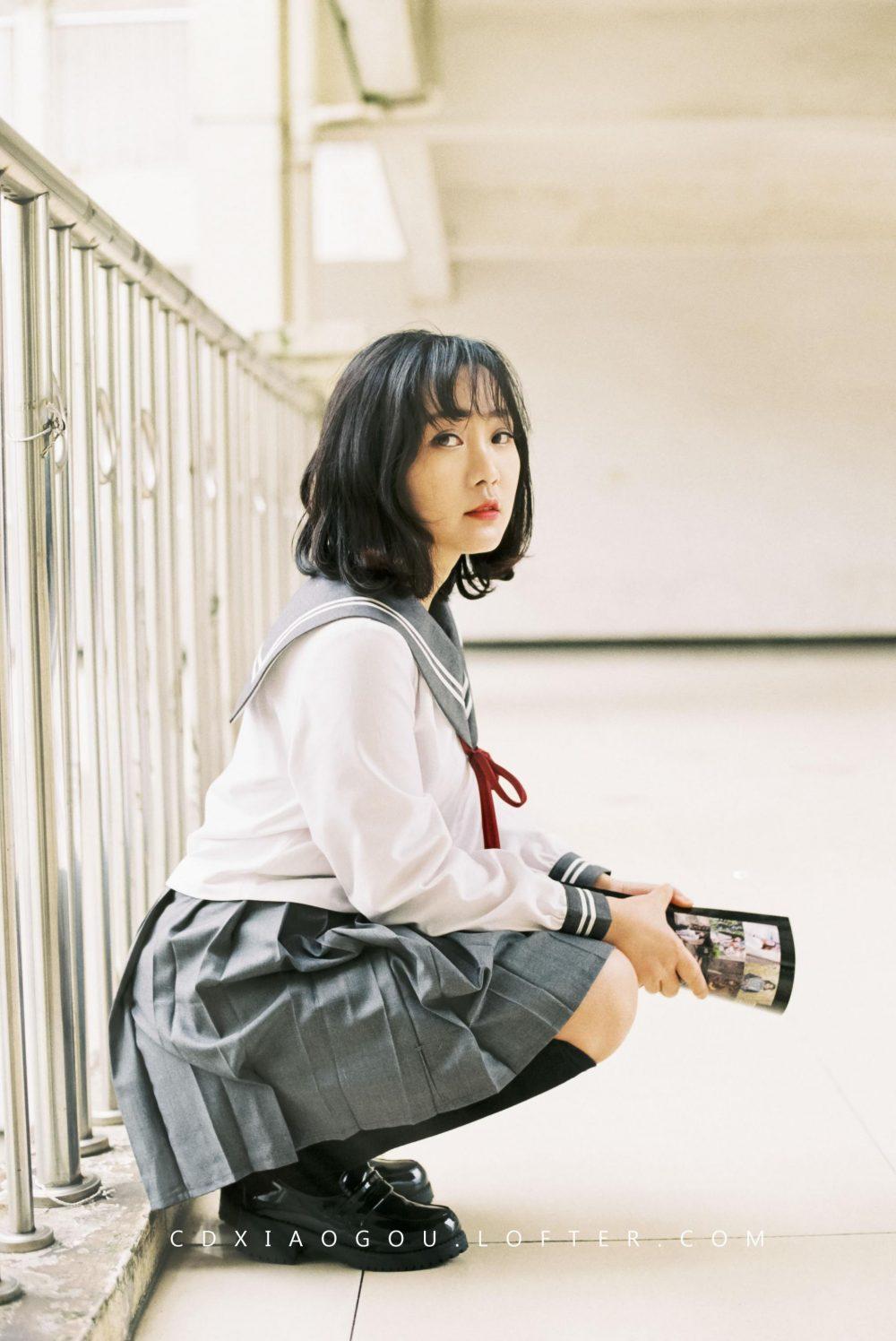 校园JK@常德摄影小狗-菲林中文-独立胶片摄影门户!